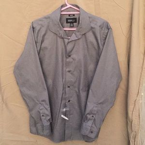 Kenneth Cole non-iron slim fit dress shirt